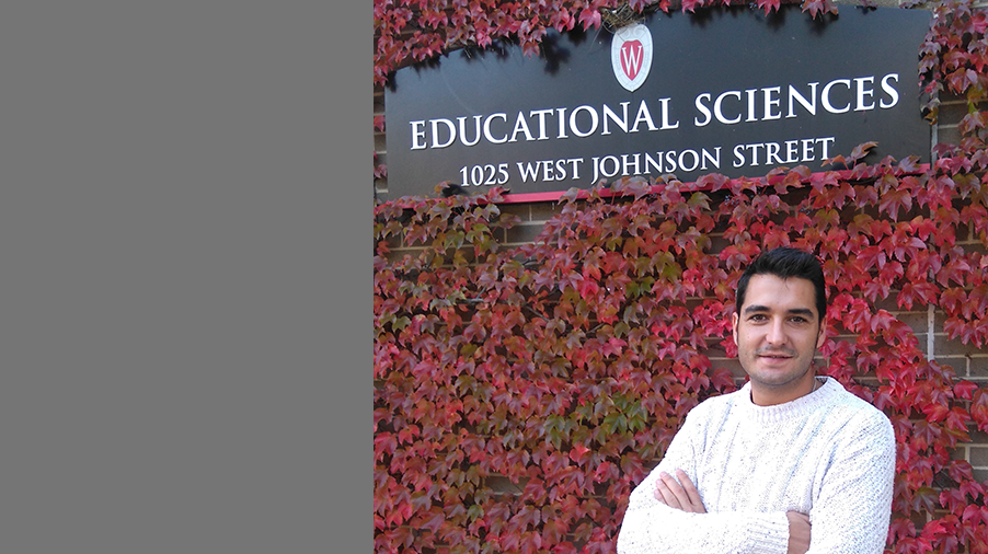 Fernando Macías, Roma researcher is visiting scholar at the University of Wisconsin