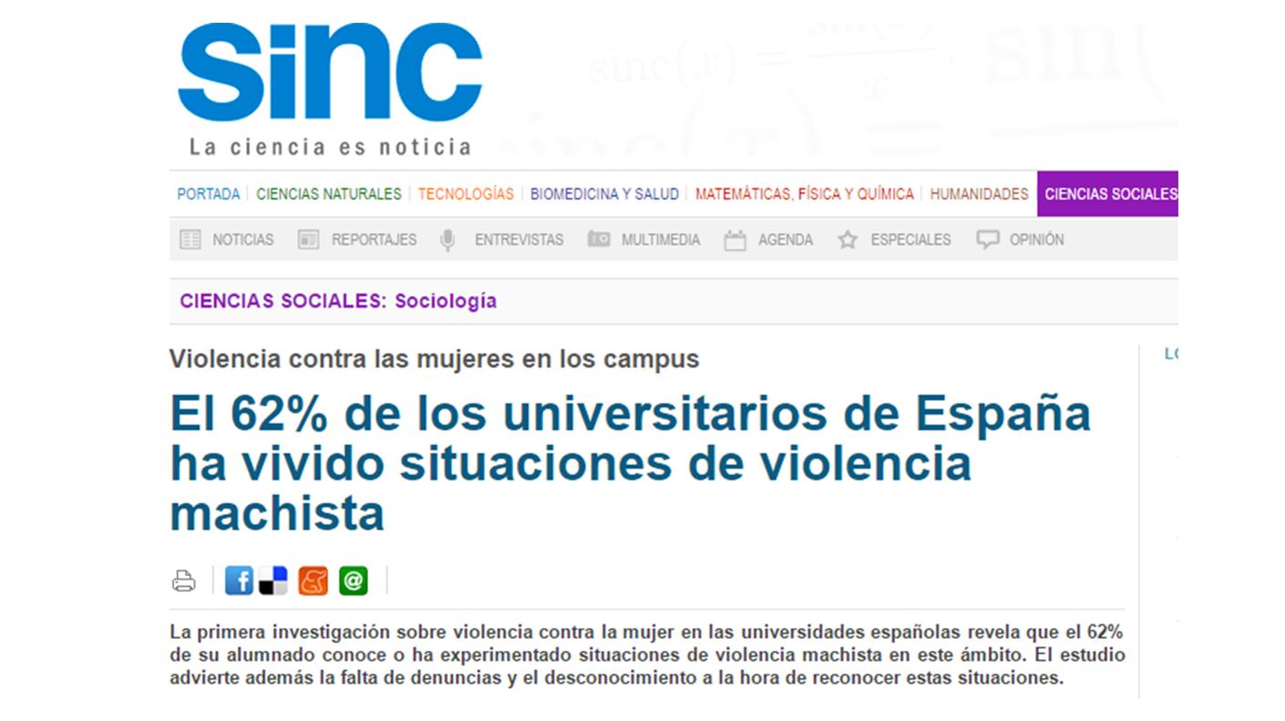 Violencia contra las mujeres en los Campus Universitarios