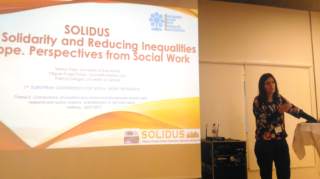 CREA participated at the 7th European Conference for Social Work Research