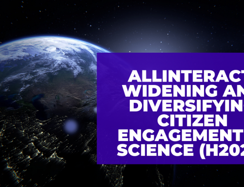 ALLINTERACT. Widening and diversifying citizen engagement in science (H2020)
