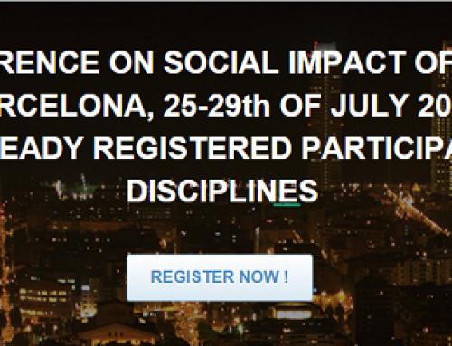 1st Conference on Social Impact of Sciences. July 2016, Barcelona.