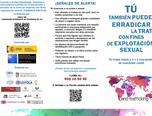 18 October 2018, European Union Day against trafficking in persons. Findings from the research Project END-TRAFFICKING for preventing sex trafficking