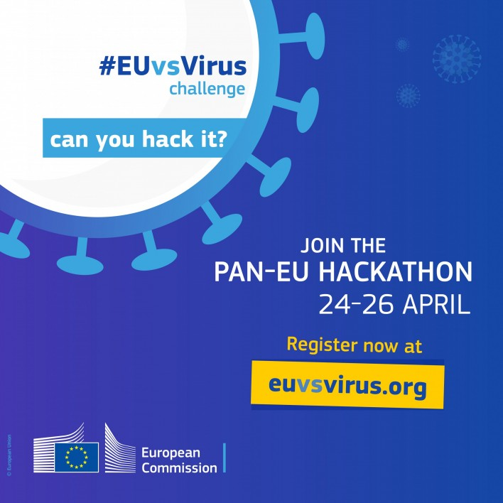 Commission hosts a European hackathon in search of innovative solutions to fight the Coronavirus outbreak