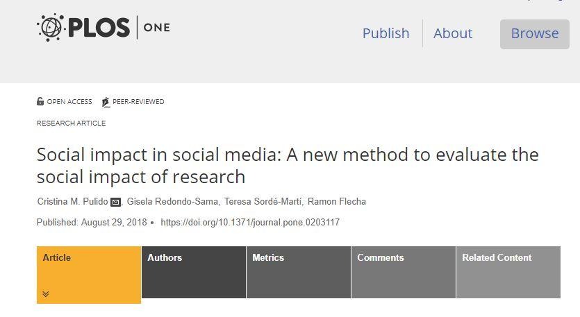 Si utilitzes xarxes socials, ets #scienceinfluencer